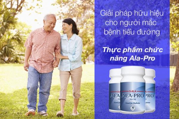 Review thực phẩm chức năng Ala Pro điều trị tiểu đường