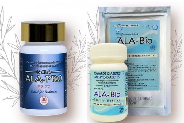 Thực phẩm chức năng Ala Bio – sản phẩm tăng cường sức khỏe cho người bị tiểu đường.